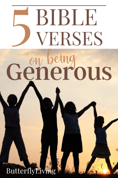 kids holding hands-what does the Bible say about generosity