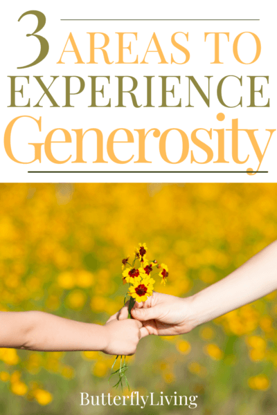giving flowers-what does the Bible say about generosity