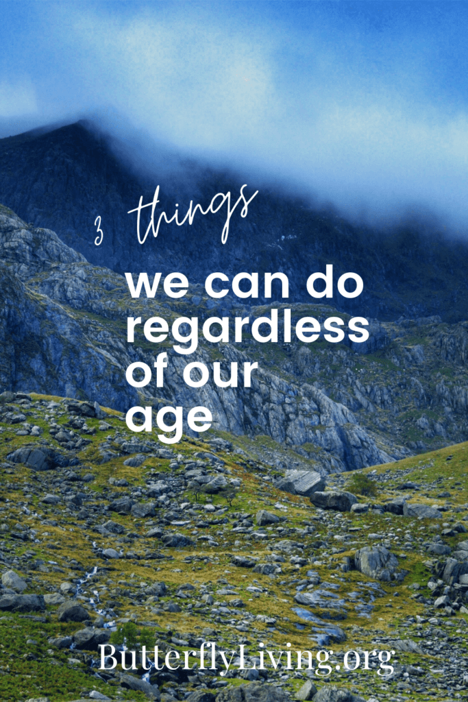 Mountains with words-Coming to terms with turning 50