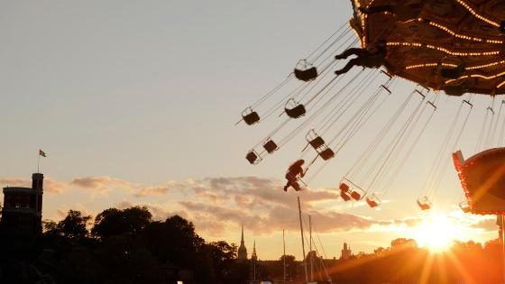 An amusement park ride-When Should Parents Let Go