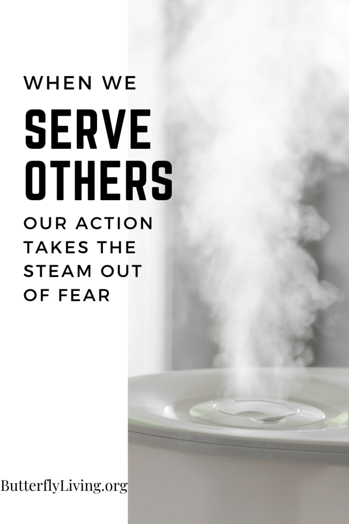Steam coming out of a cup-Coping with fear and anxiety