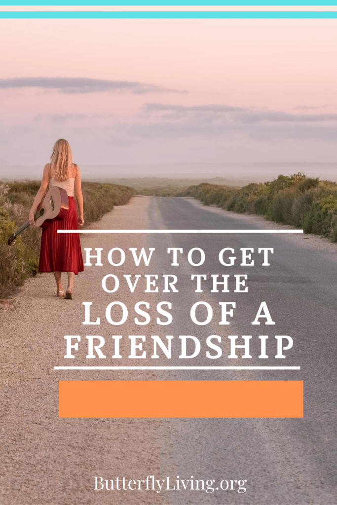 Lady walking alone-Loss of a Friendship