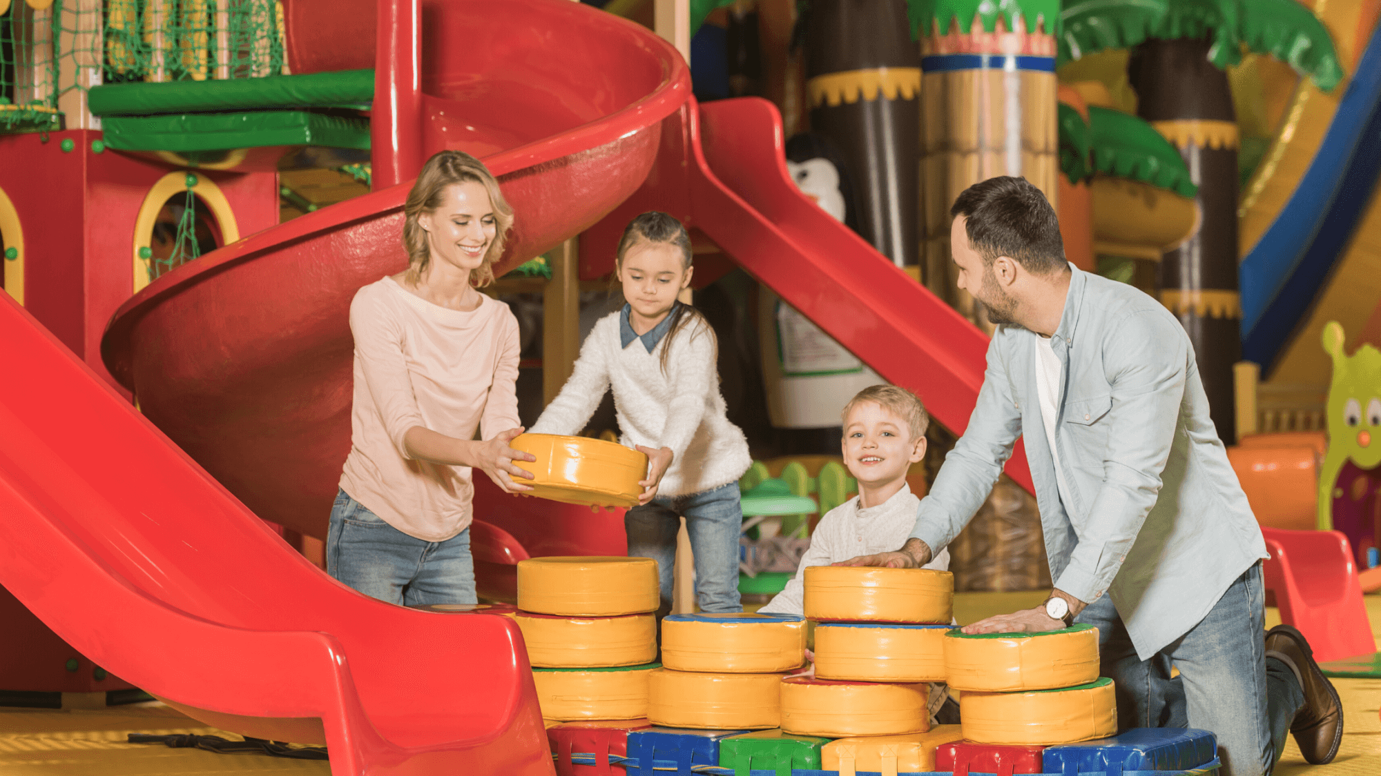 Parents playing with children-how to develop strong character
