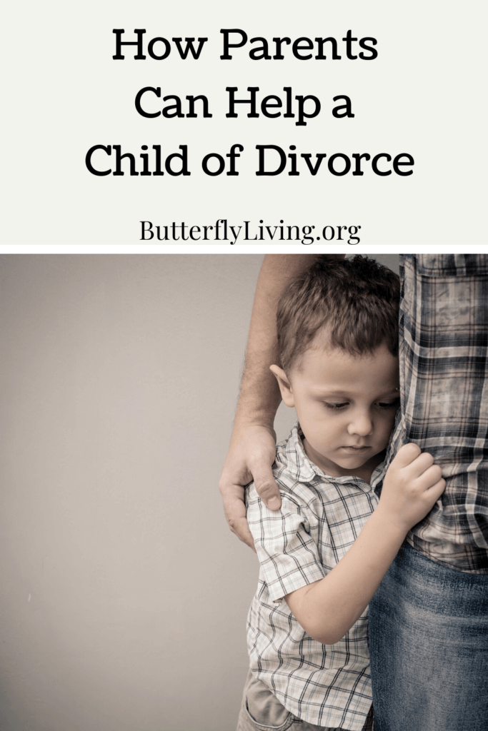 what parents can do to help a child of divorce
