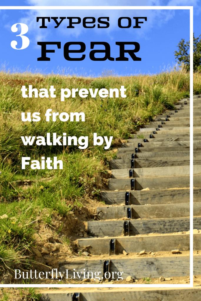 stairs-faith over fear