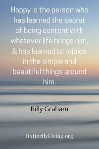 Words by Billy Graham-Godly Contentment