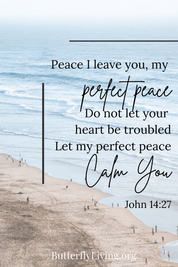 John 14 scripture-how to calm down when stressed