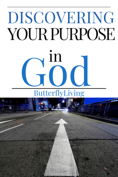 arrow on road-finding your purpose in God