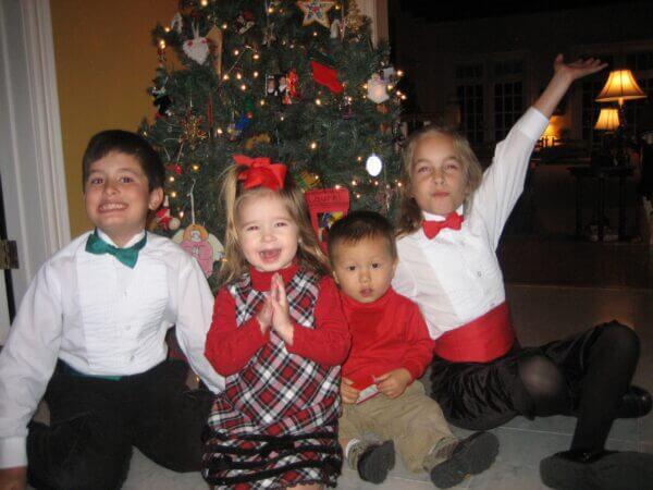 Children-simple CHRISTMAS