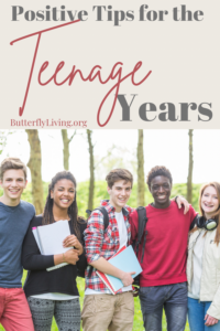 Group of teens-positive parenting strategies for the teenage years
