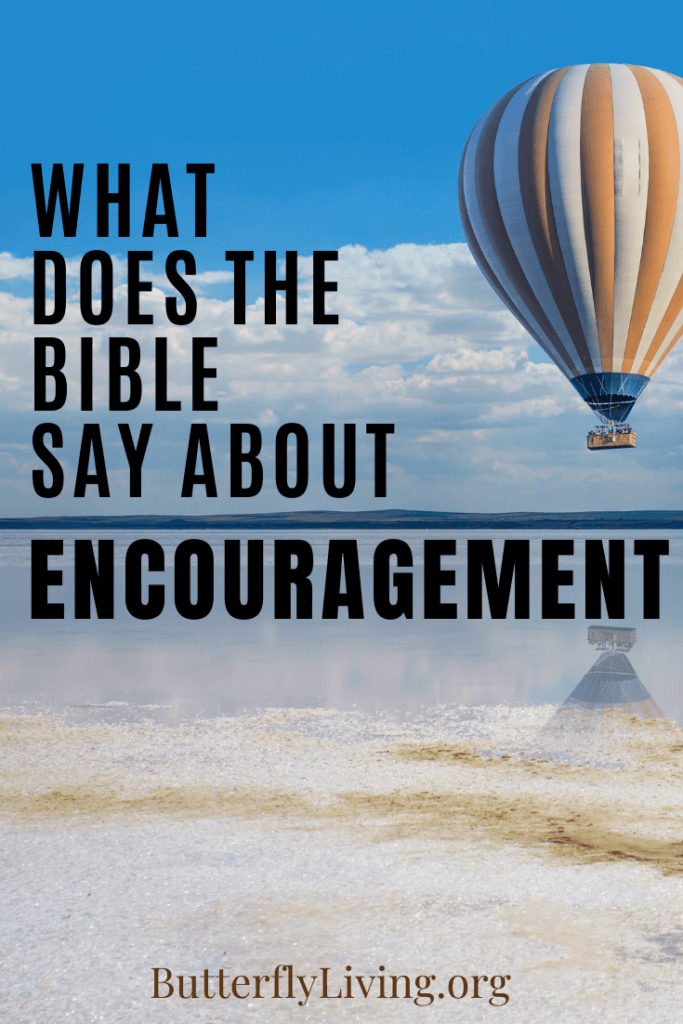 Balloon-what does the Bible say about encouragement