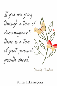 Flower-what is discouragement