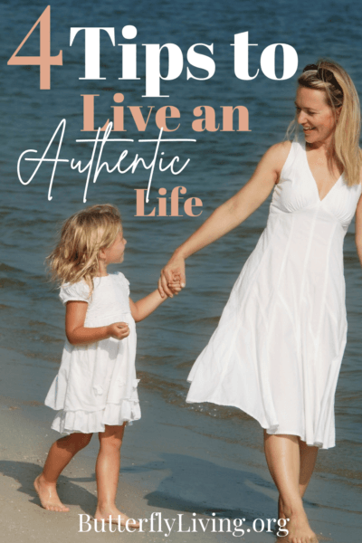 lady and girl-living an authentic life