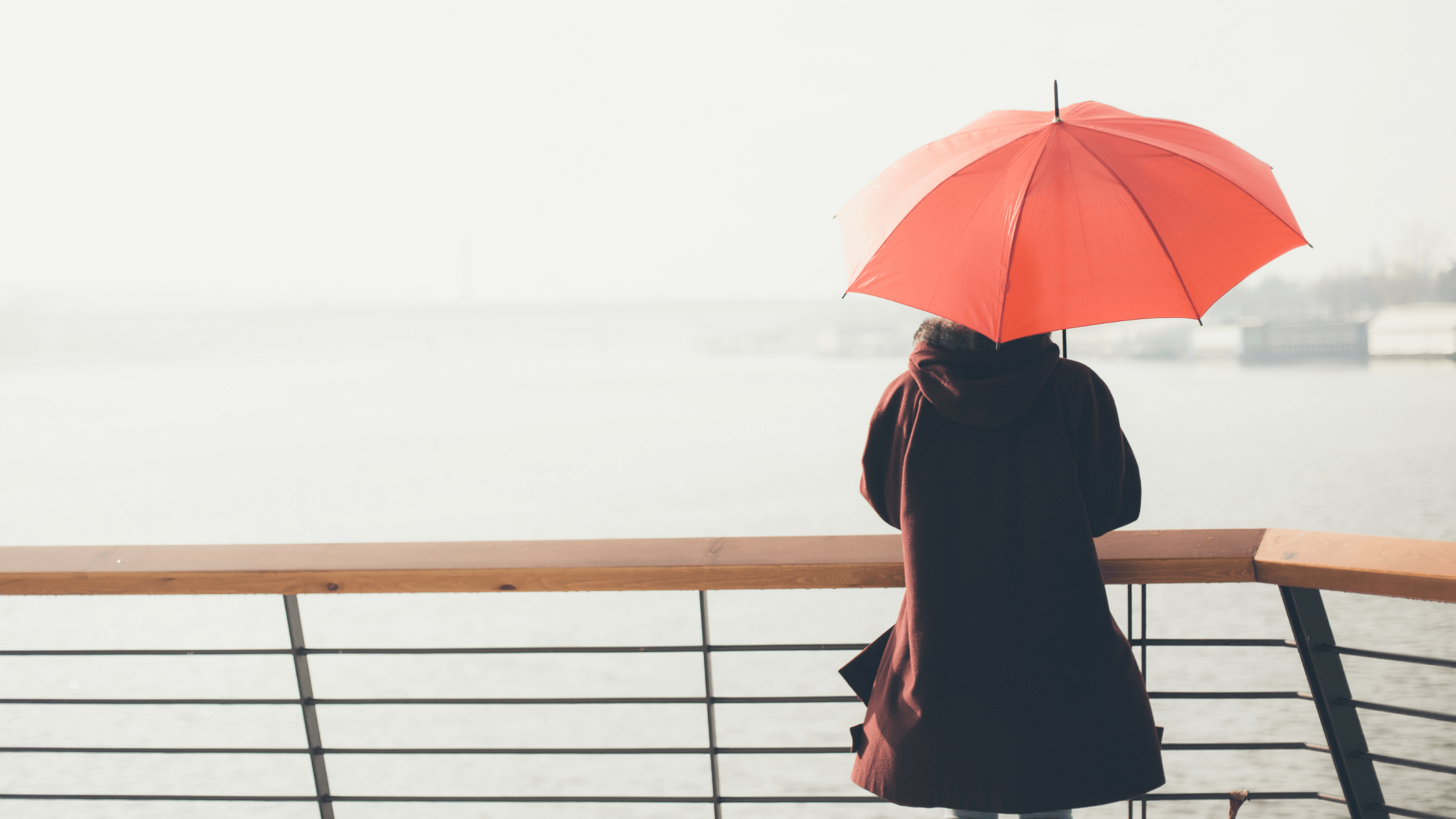lady with umbrella-how to get over disappointment