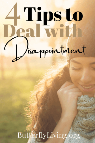 lady smiling-how to get over disappointment