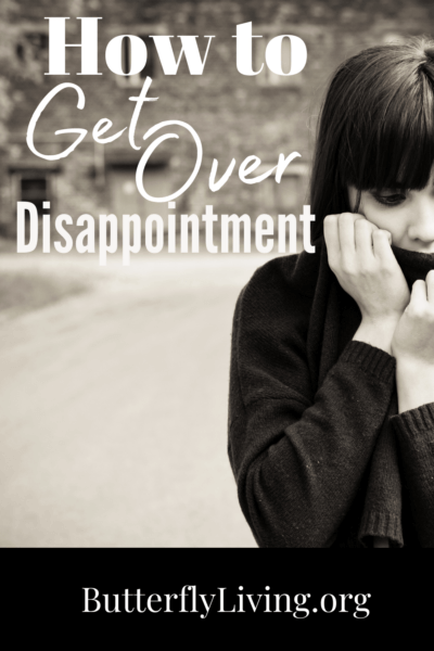 sad lady-how to get over disappointment
