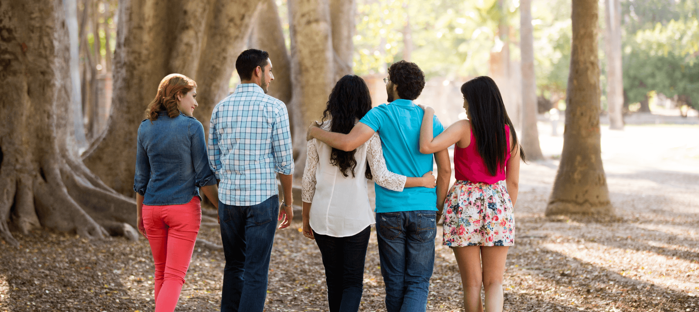 people walking-how to build healthy relationships