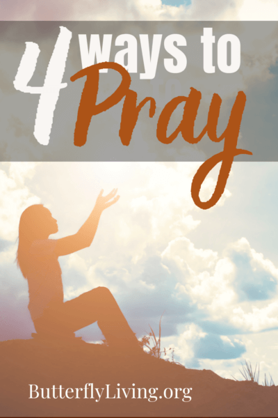Lady with arms spread-pray specifically