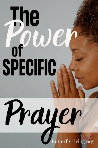 lady praying-pray specifically