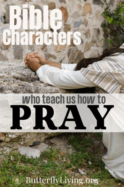 man praying-pray specifically