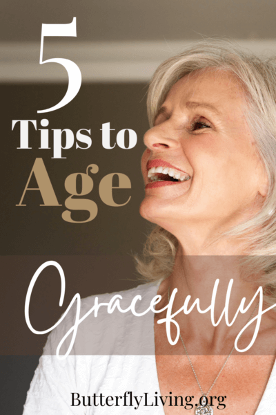 lady laughing-how to deal with aging