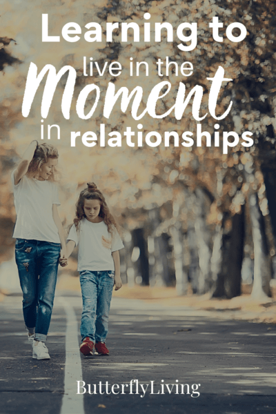 mom and daughter-how to be present in the moment