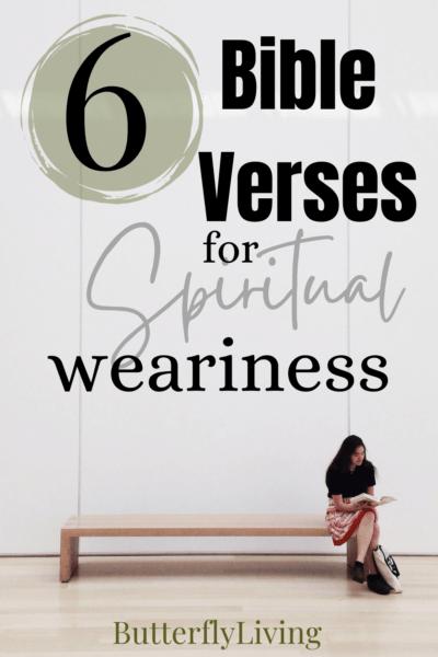 lady on bench-spiritual fatigue