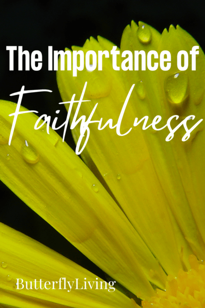 flower-what does the bible say about faithfulness