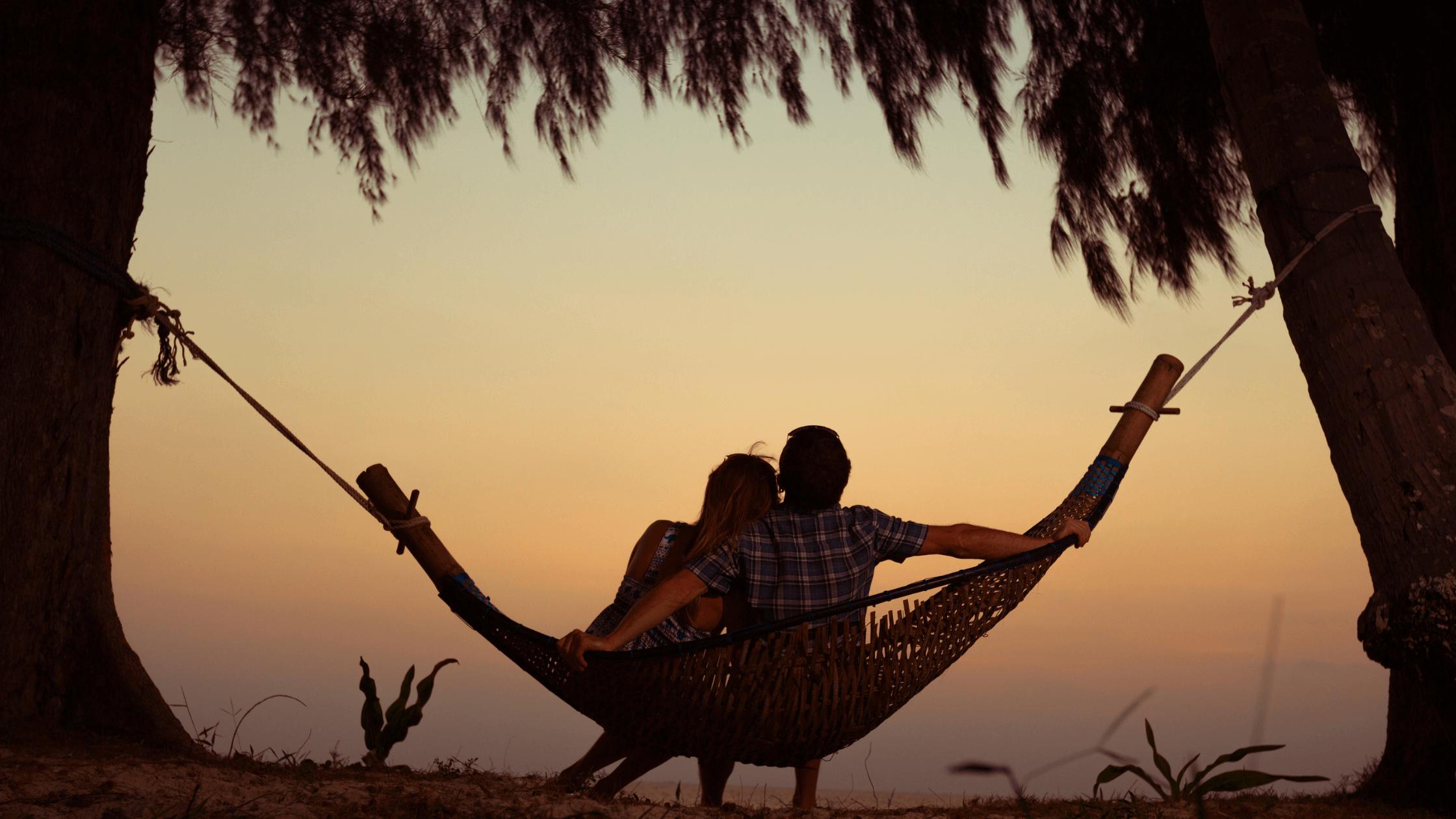 couple on swing-elements of a successful marriage