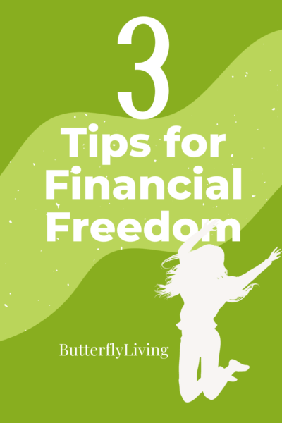 girl jumping-finding financial freedom
