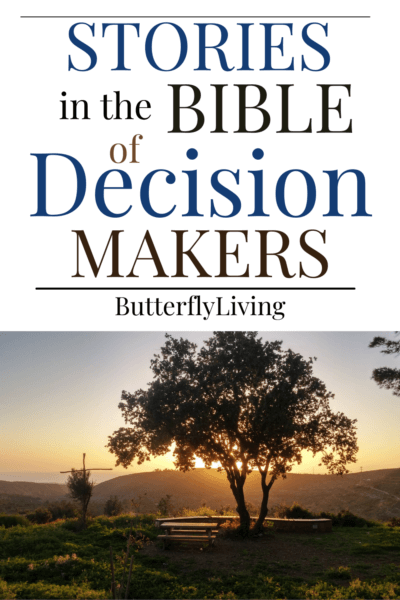tree-trusting God in making decisions